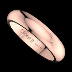 Fede Nuziale Rosa 4mm