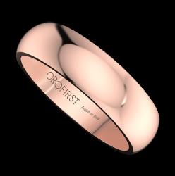 Fede Nuziale Rosa 5mm